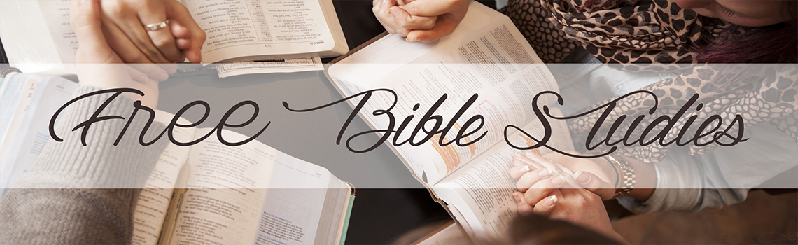 Free Bible Studies Header